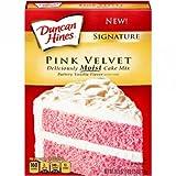 Duncan Hines Pink Velvet Cake Mix 16oz (453g)