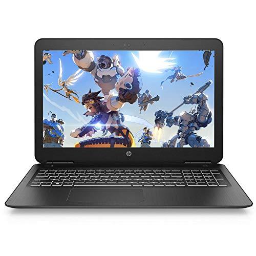 "HP Pavilion 15-bc450ns - Ordenador portátil 15.6"" FullHD (Intel Core i5-8300H, 8GB RAM, 1TB HDD + 128GB SSD, Nvidia GeForce GTX1050-4GB, Freedos), Negro"