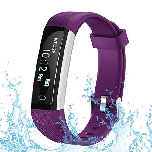 ROBOTSDEAL Fitness Tracker U2, orologio fitness con contapassi e rilevatore di attività,...