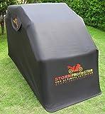 StormProtector® Motorradgarage Faltgarage Motorrad Motorrad-Ganzgarage Gehärteter Stahl - Wasserdichte Motorradabdeckung - Tragbare Faltgarage - Abdeckplane - Roller Motorrad Moped
