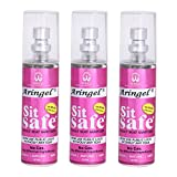 Aringel Sit Safe Toilet Seat Sanitizer (50 ml Each)-Set of 3