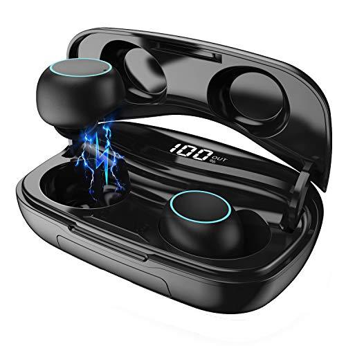 Auricolari Bluetooth Cuffie Senza Fili 【2019 Nuovo】, HETP 3500mAh Cuffie Wireless con Microfono...