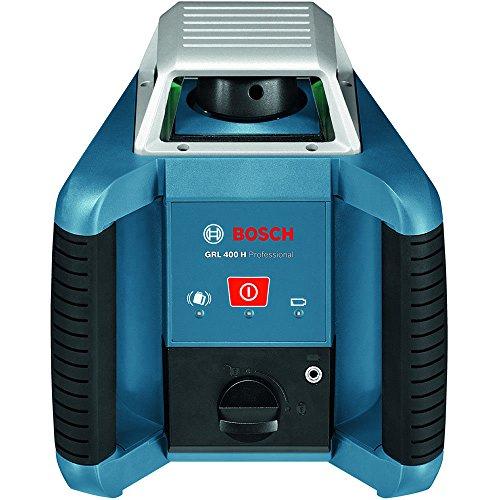 Bosch Professional GRL 400 H, 400 m Arbeitsbereich mit Empfänger, Transportkoffer, Empfänger