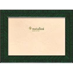 Natalini Biante Verdone 13x 18Bilderrahmen, Holz/Glas dunkelgrün 21x 16x 1,5cm