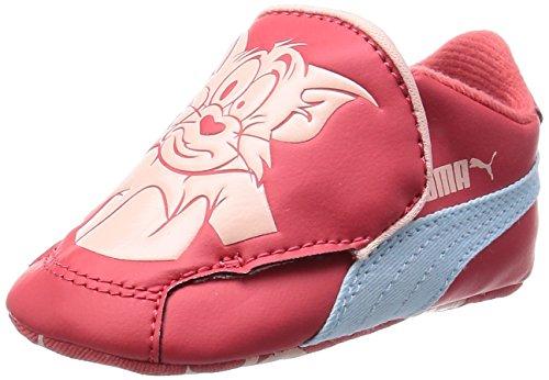 Puma CRIB PACK TOM ET JERRY 2 Scarpe Moda Sneakers Rosso per Bambino
