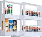 UPP –Especiero extensible –Estante universal/Almacenamiento/Sistema de orden/Armario de cocina/estantería para medicamentos