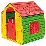 Papillon 8326032 - Casita juegos resina, 102 x 90 x 109 cm