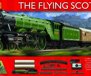 Hornby R1152 Flying Scotsman 00 Gauge Electric Train Set 51uwLwT8udL