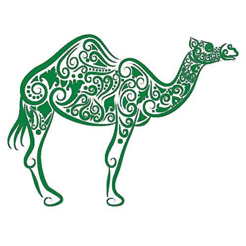 guijiumai Adesivo da Parete Cammello Desert Desert Animal Camel Tribe Murale Adesivo Caffetteria...