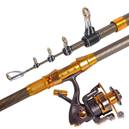Canna da pesca telescopica in fibra di carbonio 99% 3,6/3,9/4,2/4,5 M Canne da pesca a corto raggio Canna da pesca telescopica Spinning Canna da pesca-4.5