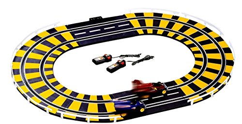 ZIGLY High Performance Electronic Road Racing Track Set with Independent Control