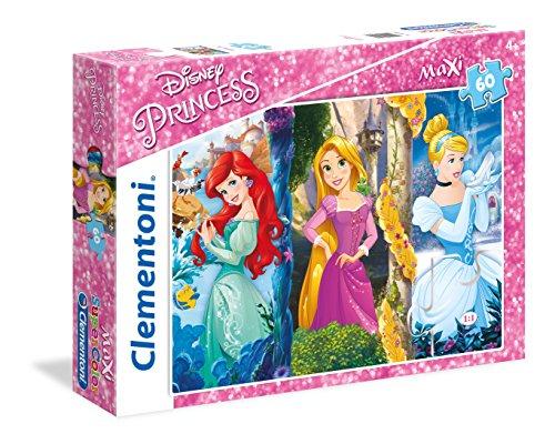 Clementoni 26416 - Puzzle 60 Maxi Princess