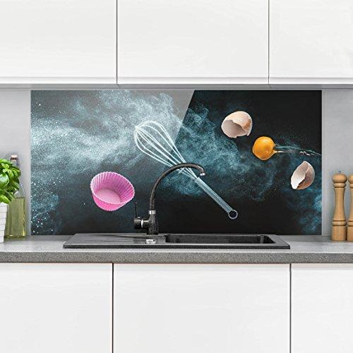 Bilderwelten paraschizzi in vetro caos in cucina orizzontale 1 2 paraschizzi cucina - Pannello paraschizzi cucina ...