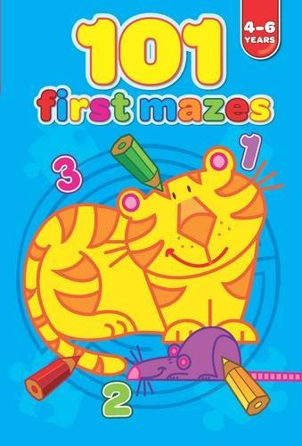 101 First Mazes 4-6 years (101 First Puzzles) by Yoyo Books (2013-02-01)