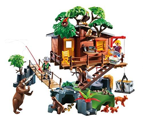 Playmobil casa del rbol de aventuras 55570 dedibujos - Casa del arbol de aventuras playmobil ...