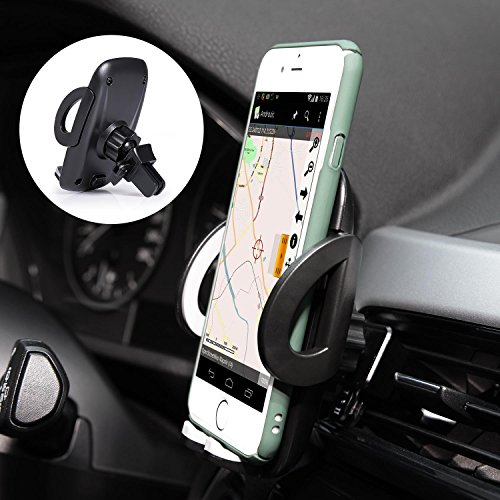 iamotus support t l phone voiture rotation 360 degr s ajustable support t l phone universel. Black Bedroom Furniture Sets. Home Design Ideas