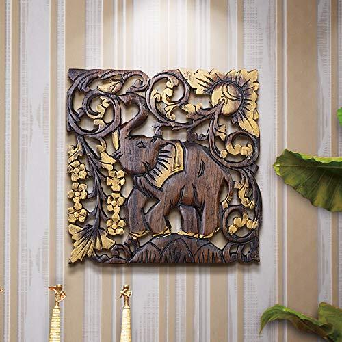 Powzz ornament Pezzi da Collezione Bordo Decorativo Intagliato in Legno Massello per Parete di Fondo...