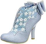 Irregular Choice, Scarpe col Tacco Punta Chiusa Donna, Blu (Blu (Pale Blue D)), 42