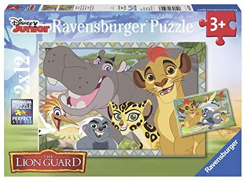Ravensburger Italy Puzzle per bambini-2x12 Pezzi,, 07599