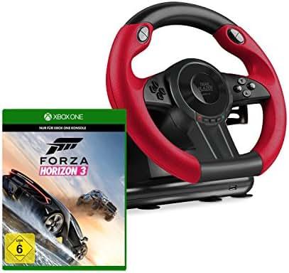 Speedlink SL-250500-BK Trailblazer Racing Wheel Gaming Lenkrad für Xbox One + Forza Horizon 3 - Standard Edition