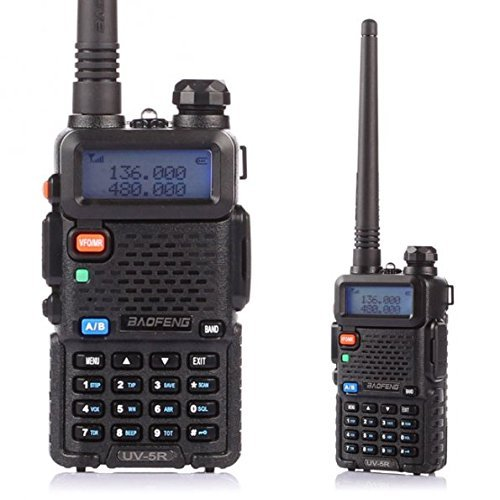 Baofeng Uv-5R - Radio, negro
