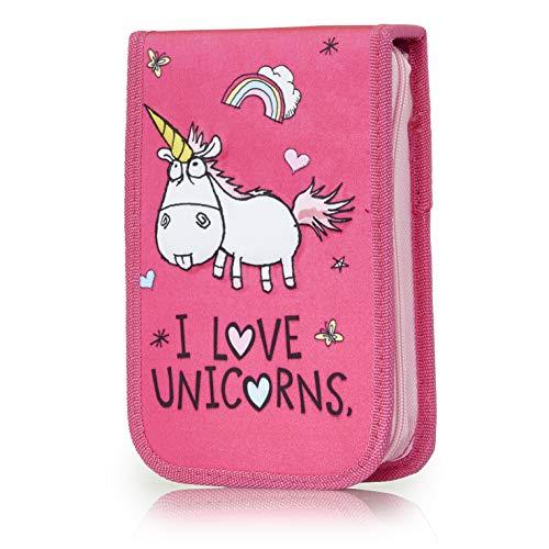 KreativeKraft Astuccio Unicorno | Completo Di 17 Pezzi Con Gomma Unicorno, Blocco Da Disegno,...