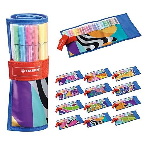 Pennarelli Premium - STABILO Pen 68 - Rollerset con 25 colori assortiti - Just like you Edition