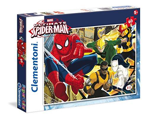 Clementoni 26887 - Puzzle Ultimate Spiderman, 60 Pezzi
