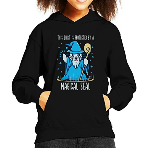 DND-Puns-Protected-by-a-Magical-Seal-Pun-Kids-Hooded-Sweatshirt