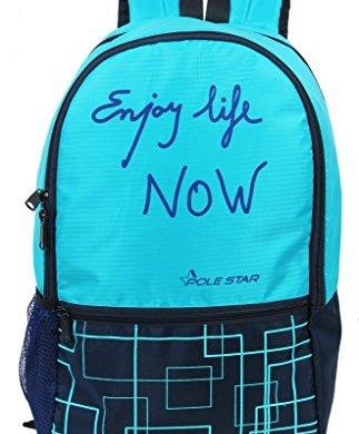 """Pole Star""""Hero"""" 32 Lt Pink Black Casual Backpack I bagpack 19"""