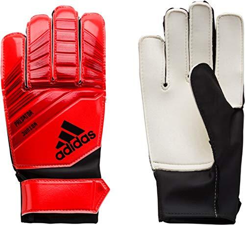 adidas Predator - Guanti da Portiere per Bambini, Bambini, DN8560, Active Red/Solar Red/Black, 5