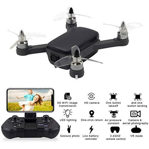 Uav drone-TianranRT Quadcopter RC Quadcopter 913 2.4G Wifi FPV 5MP 1080P HD Pieghevole Imballaggio...