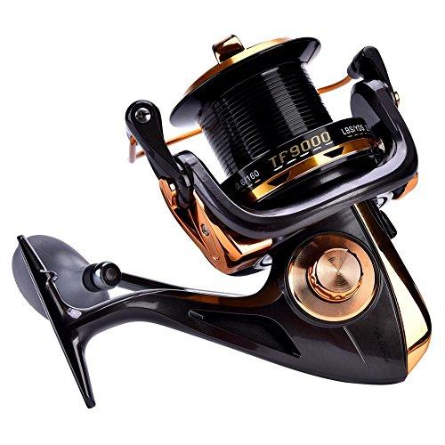 Dilwe mulinello 12+ 1BB ad alta velocità Metallic casting Smooth spinning mulinelli per pesca d' acqua dolce salata, 9000