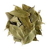 Alloro foglie biologiche erba aromatica - Foglie intere di qualità culinaria - Pianta officinale Laurus nobilis - Laurier Bay Foglie 100g
