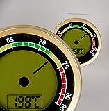 Lifestyle-Ambiente Caliber 4R Präzisions-Hygrometer +/-1% RF Gold inkl Tastingbogen