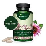 ECHINACEA Vegavero® | 6000 mg | con il 4% di POLIFENOLI | 120 capsule | Vegan
