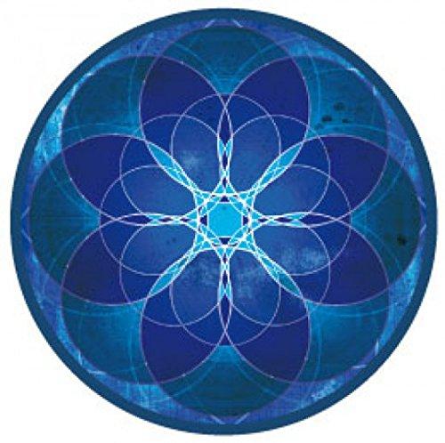 Mandalas - Meditación Y Paz Interior Pegatina Vinilo Autoadhesivo (9 x 9cm)