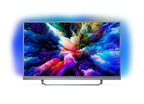 Philips 55PUS7503 Smart TV UHD 4K, da 55', Android, Ultra Slim, Ambilight, anno 2018 [Esclusiva...
