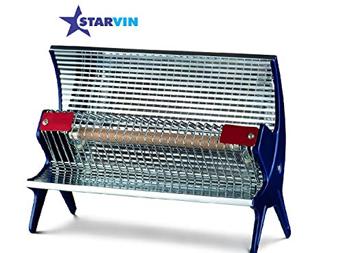 starvin Happy Home Laurels Rod Type Heater || Room Heater || 1 Season Warranty || Model - Priya Disco || T-85