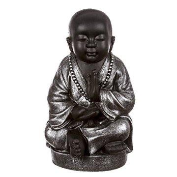 dcasa - Figura buda surte sentado resina 42 cm decoracion 3