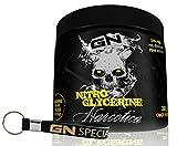 Limited Edition Narcotica Nitro Glycerine Pre-Workout Pump Booster Trainingsbooster Bodybuilding 300g inkl. Pillendose (Crazy Fruit - verrückte Früchte)