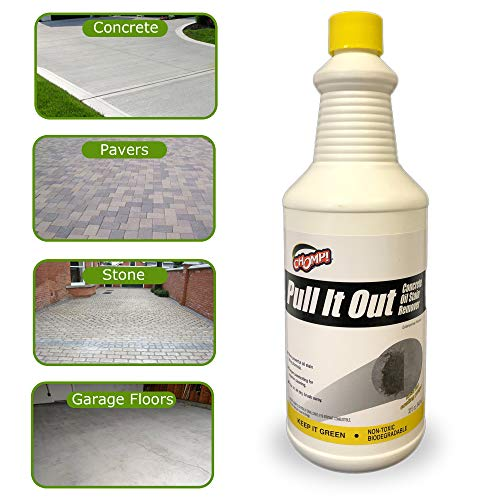 Chomp 52019 Pull It Out Concrete Oil Stain Remover