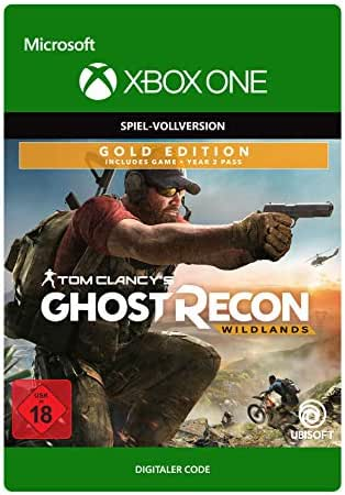 Tom Clancy's Ghost Recon Wildlands: Gold Year 2   Xbox One - Download Code