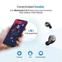 Mpow-Auricular-Bluetooth-In-Ear-Auricular-Estreo-Inalmbrico-HD-con-Caja-de-Carga-de-25-Horas-Auricular-Bluetooth-50-IPX5-Impermeable-CVC-60-Cancalacin-de-Ruido-para-iPhone-Android