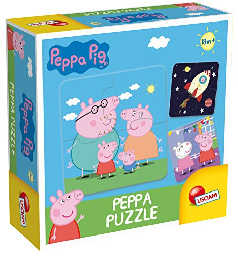 Lisciani Giochi Peppa Pig Games-Puzzle, 64915.0