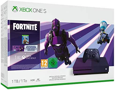 Xbox One S 1TB – Fortnite Special Edition Bundle