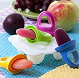 Nuby Garden Fresh Fruitsicles Frozen Purees Moulds, 4 Moulds
