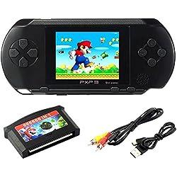"""SZZHCKJ 2.7 """"LCD Handheld Spielkonsole PXP 3 16bit Retro Video Game Player Spielzeug für Kinder Kinder Junge Beste Geschenke 100+ Spiele"""