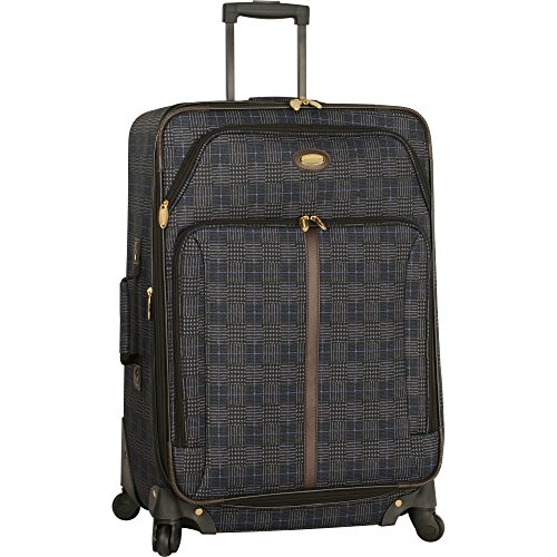 """Travel Gear 29"""" Expandable 4wheel Spinner Suitcase, Navy"""