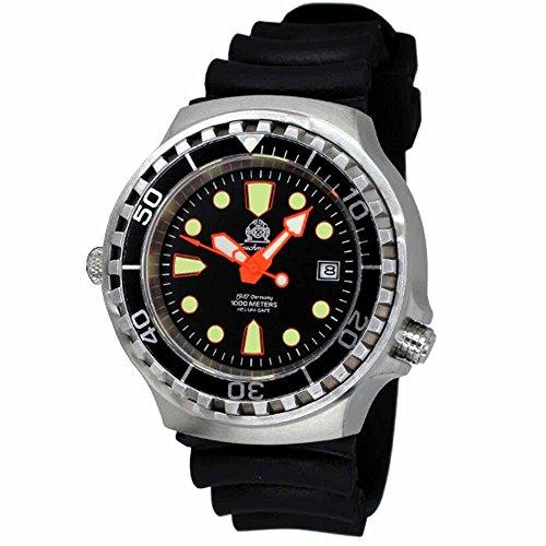 Tauchmeister automatico, 1000m Dive orologio con valvola di rilascio elio e zaffiro T0264